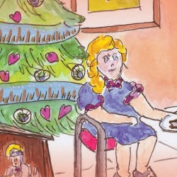 La Navidad de Victoria, la abuela Luce y el señor Bretzel